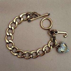 Juicy Couture Heart Pave Bracelet